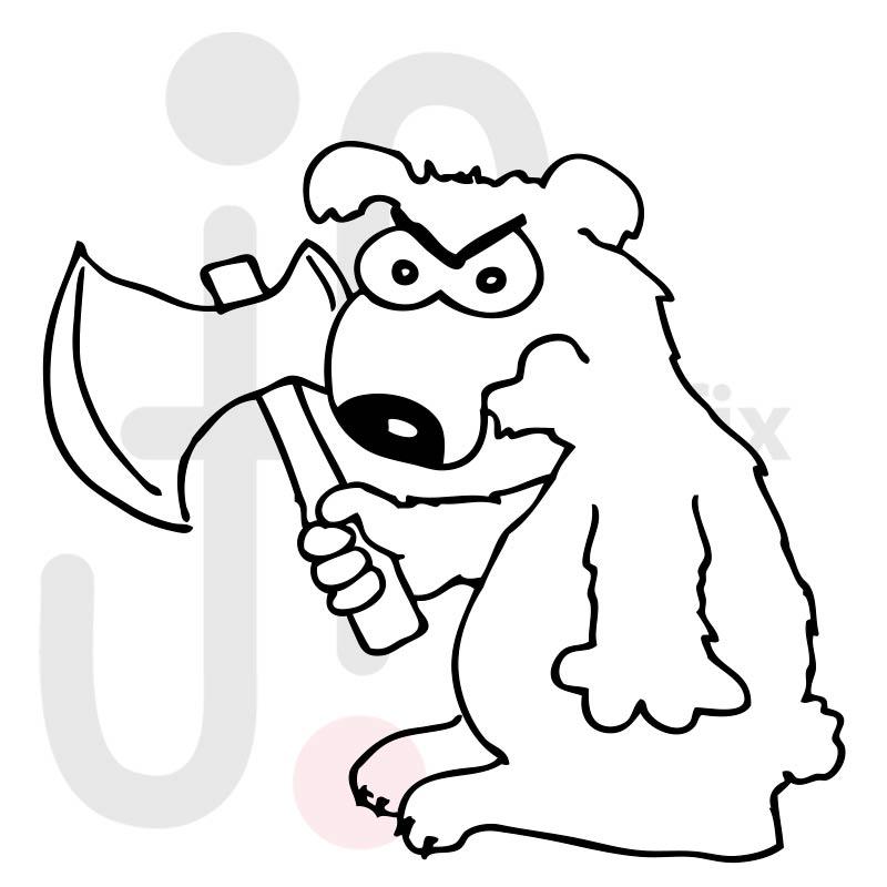 Böser Bär 001