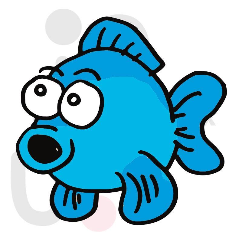 Fisch 009 farbig
