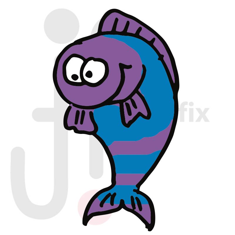 Fisch 010 farbig