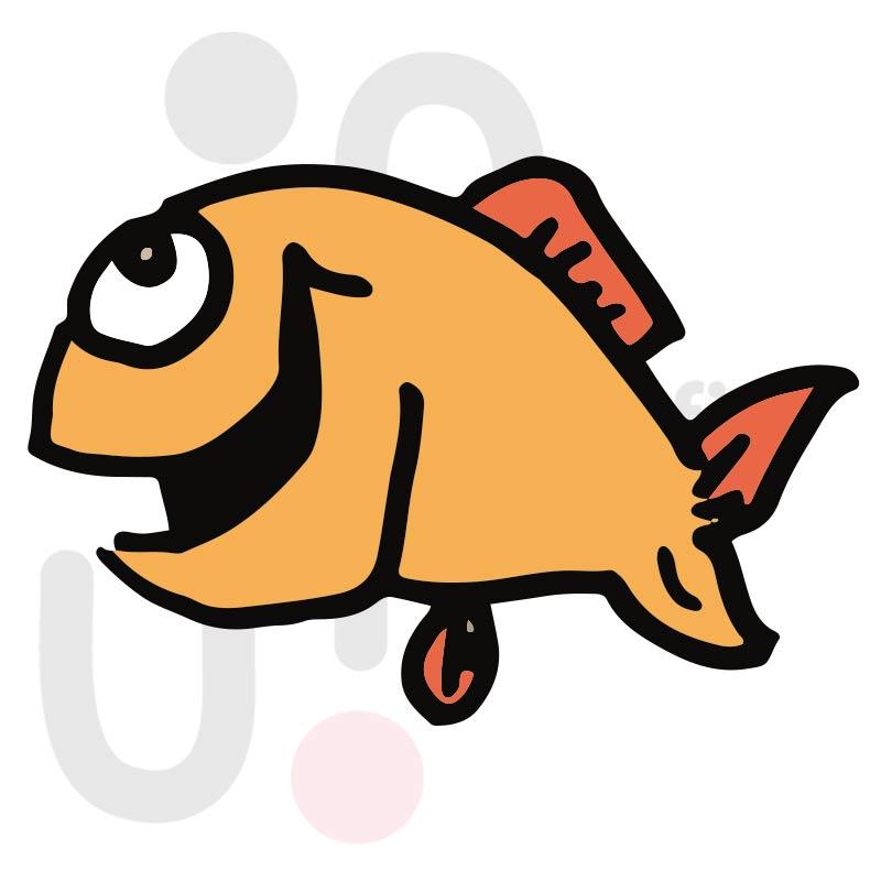 Fisch 012 farbig