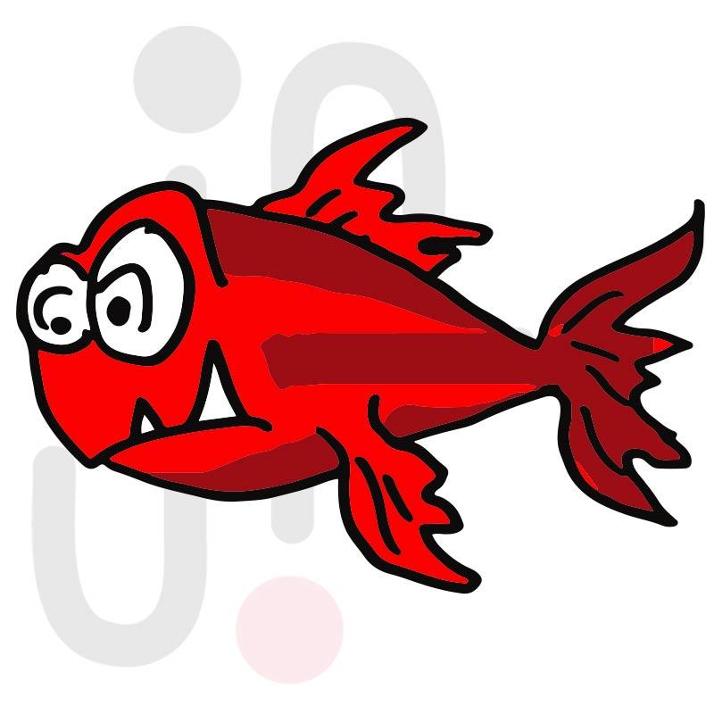 Fisch 014 farbig