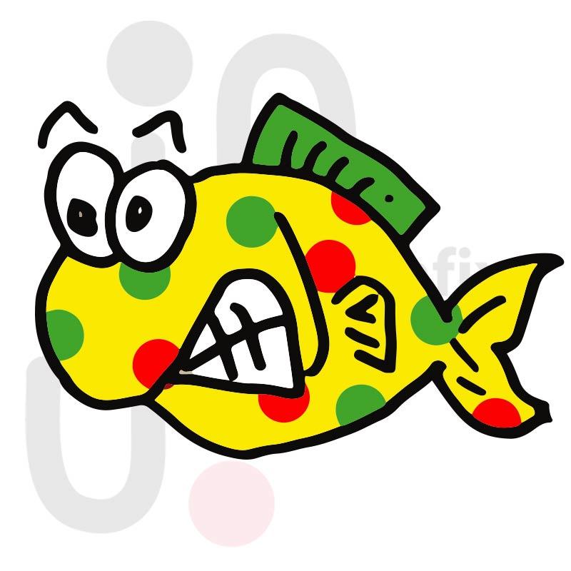 Fisch 015 farbig