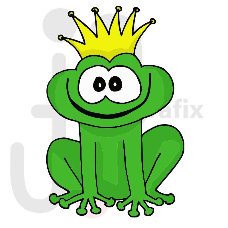Frosch 010 farbig