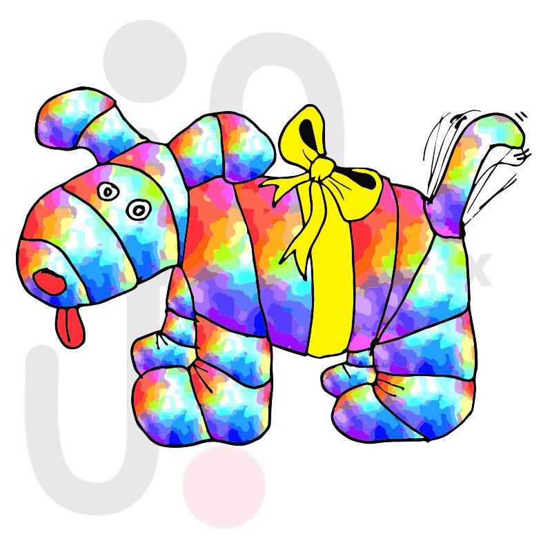 Hund 001 farbig