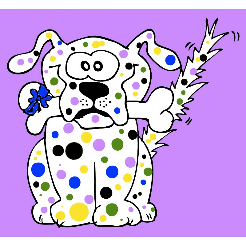 Hund 003 farbig