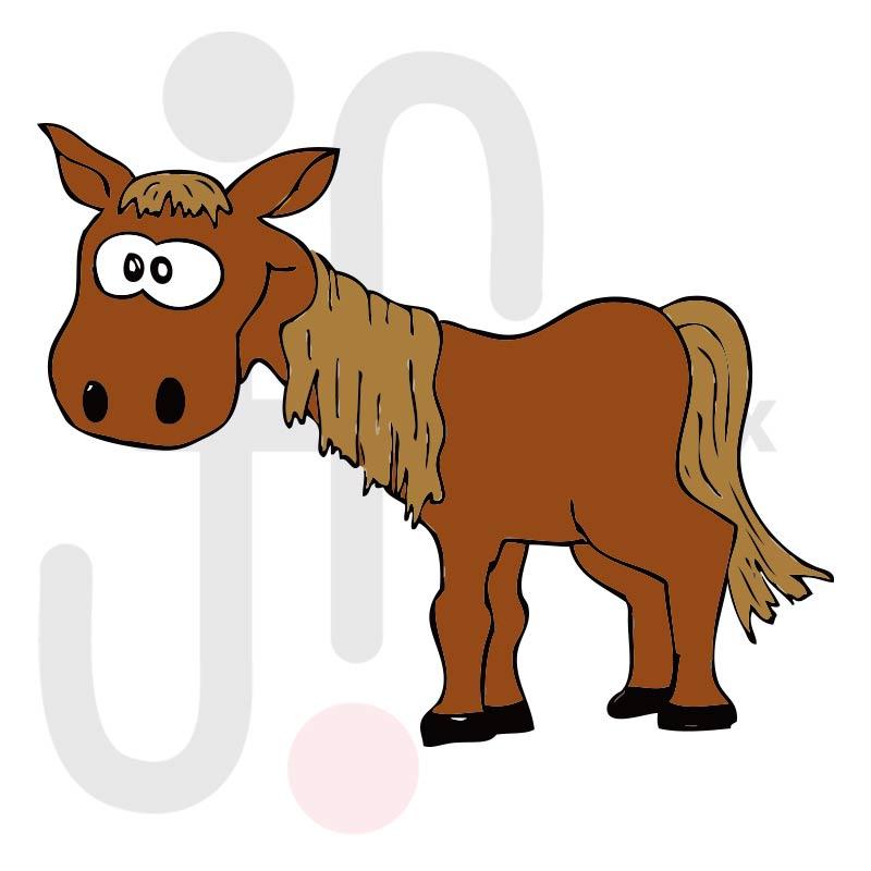 pferd 002 farbig  tierisch gut tierbilder
