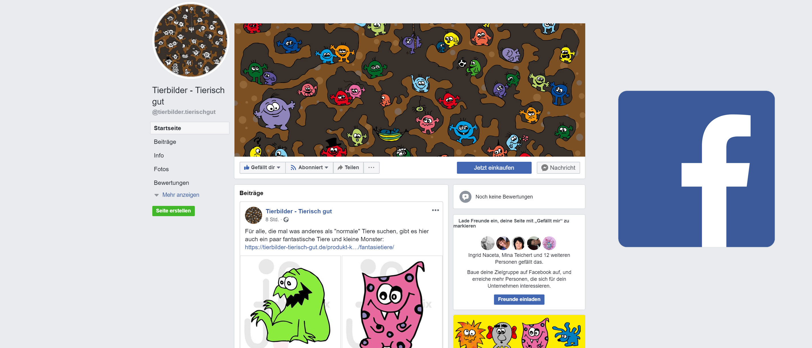 Tierbilder. Tierisch gut! Jetzt auch bei Facebook!