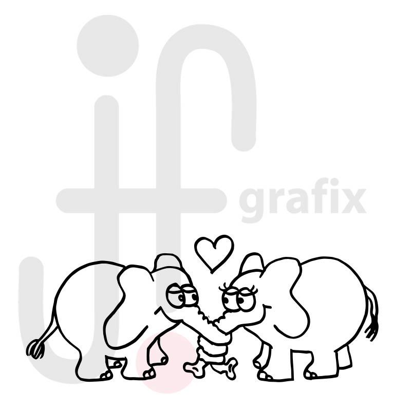 Valentinstag Elefanten 001