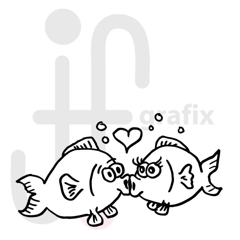Valentinstag Fische 001
