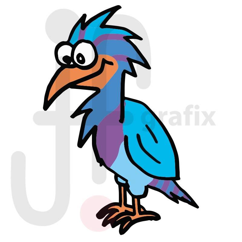 Vogel 006 farbig