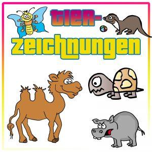 Tierzeichnungen / Stockimages
